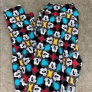 Lularoe Mickey leggings